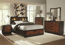 Types Of Bed Frames by 202911 Rolwing Bedroom By Coaster In Oak U0026 Espresso W Options