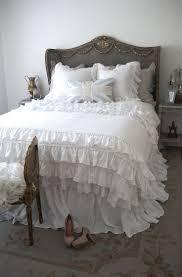 Purple Ruffle Comforter Bedroom Ruffle Bedding Twin Ruffle Bedspreads Ruffle Comforter