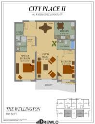 Waterloo Station Floor Plan by City Place Ii London Ontario Drewlo Holdings Drewlo Holdings