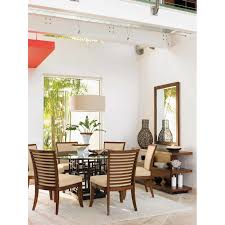 Tropical Dining Room Furniture by Ocean Colony 7 Is An City Maryland Luxury Oceanfront Four Dining
