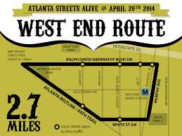 Atlanta Beltline Map Bicycle Storycroft
