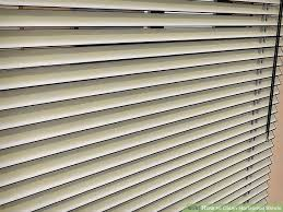 Paper Mini Blinds 3 Ways To Clean Horizontal Blinds Wikihow