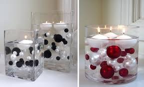 candle centerpieces ideas diningroom floating candles vase decoist tierra este candle
