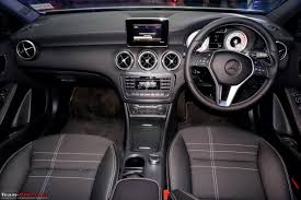 A Class Upholstery Autocheck India Mercedes U0027s New Luxury Hatchback For India