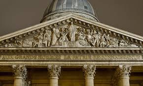 Architectural Pediment Design 1758 1790 Pediment Of The Pantheon Mausoleum