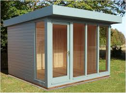 Floor Plans For Sheds by Backyards Cool 10x12 Modern Shed Plans Right Side 10x10 Studio