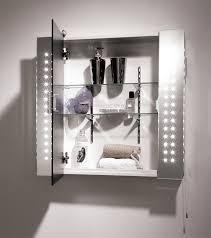 Illuminated Bathroom Mirrors With Shaver Socket Top Illuminated Bathroom Mirror Cabinet With Shaver Socket J22