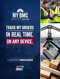my bmc logistics manager build with bmc