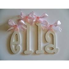 baby girls nursery wall letters wall décor for girls room
