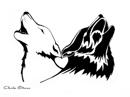 wolf tattoo by wildzyria on deviantart