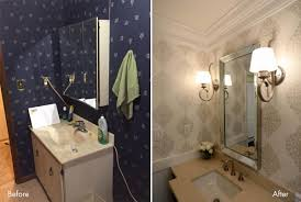 Beautiful Powder Room Progress Lighting A Powder Room Makeover U2013 See The Dazzling