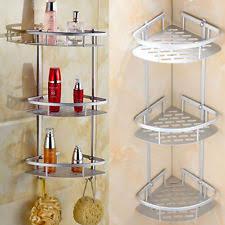 aluminium bathroom shower caddies organisers ebay