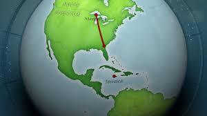 Map Jamaica Jamaica Map Youtube