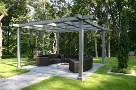 Gazebo Fire Pit Ideas by Weiuca Bennett Design