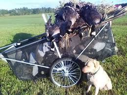 Homemade Goose Blind Decoycartz Llc Our New Decoy Carts Make Hauling Goose And Duck