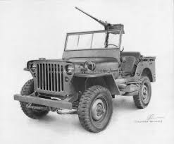 military jeep jeep willys drawing bracken u0027s depictions