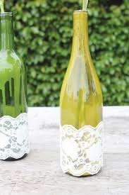 Wine Bottle Centerpieces Diy Tutorial Wine U0026 Lace Centerpieces Hostess With The Mostess