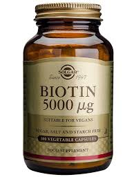 solgar biotin 5 000 mcg grow healthy hair skin u0026 nails women u0027s