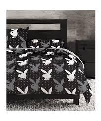 Monogrammed Comforter Sets Cheap Boys Comforter Sets Playboy Monogram Bunny Head Black
