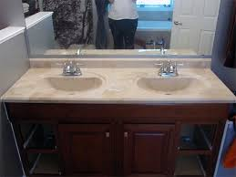 Refurbish Bathroom Vanity Refinishing The Bathroom Vanity Top Part 1 Julepstyle Refinish 51
