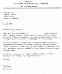cover letter exles canada cover letter sle canada 87 about remodel resume cover