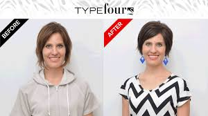 dyt type 4 hair cuts a dyt type 4 makeover melanie before and after a dyt type 4