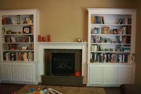 Diy Built In Desk by Astonishing Built In Bookshelves Bookshelf Plans