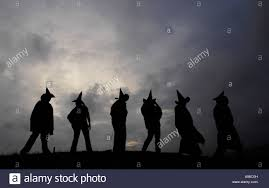 halloween revellers celebrate the pagan new year and celtic