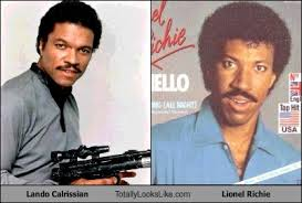 Lando Calrissian Meme - lando calrissian totally looks like lionel richie cheezburger