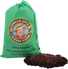 5000 red composting worm mix uncle jim u0027s worm farm