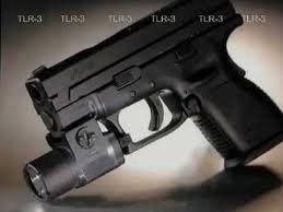 Streamlight Gun Light Streamlight Tlr3 C4 Led Gun Mounted Weapon Light Youtube