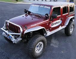 jeep jk front bumper with trail series stinger aluminum