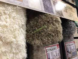 Costco Sheepskin Rug Dynamic Rugs The Luxe Shag Collection 5 U0027 X 8 U0027 Or 8 U0027 X 10