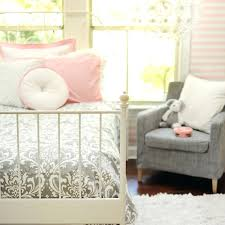 Gray And Pink Bedding Sets Pink And Gray Baby Girl Bedding Sets