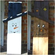 how to make a pallet scarecrow snowman wood pallet projects to