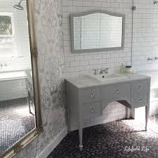 Furniture Style Bathroom Vanity by The Bathrooms Turned Out Beautifully So Elegant And Glamorous