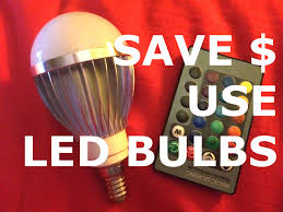 do led lights save money how to save money with led bulbs energy saving color changing