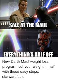 Darth Maul Meme - i li sale at the maul everything s half off new darth maul weight