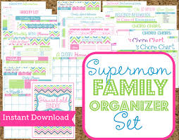 instant download mom planners home organization printables 30