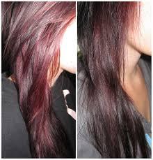 the beauty hippie project burgundy hair revlon colorsilk in