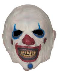 creative 1pc pvc scary clown mask halloween mask for antifaz party