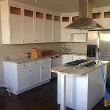 painting kitchen cabinets white some before and after pictures