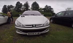 pergut car old peugeot 206 with diesel engine driven by regular car reviews
