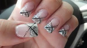 silver nail art designs how to nail designs