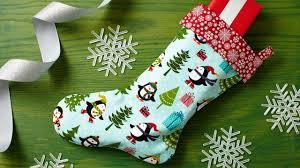 easy christmas stocking youtube