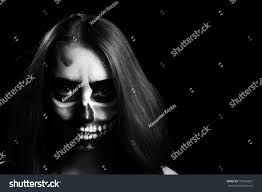halloween woman mask young woman day dead mask skull stock photo 157962827 shutterstock