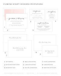 Invitation Reply Card Flowing Script Wedding Invitations Wedding Invitations By Shine