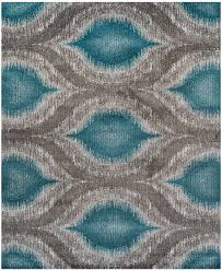 Blue Ombre Area Rug by Dalyn Neo Grey Cove Teal 9 U00276