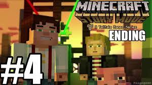 minecraft story mode episode 1 ending gameplay walkthrough part