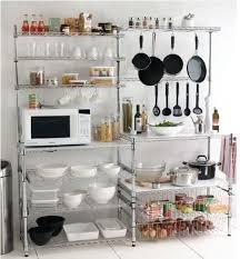 Ideas For Shelves In Kitchen Stunning Metal Shelving Kitchen Eizw Info
